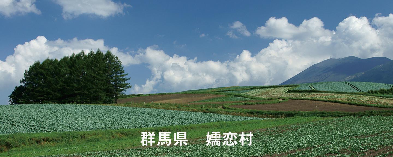 群馬県嬬恋村の風景